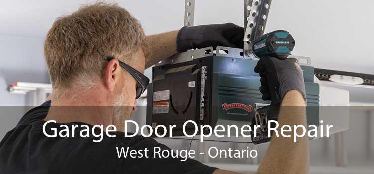 Garage Door Opener Repair West Rouge - Ontario