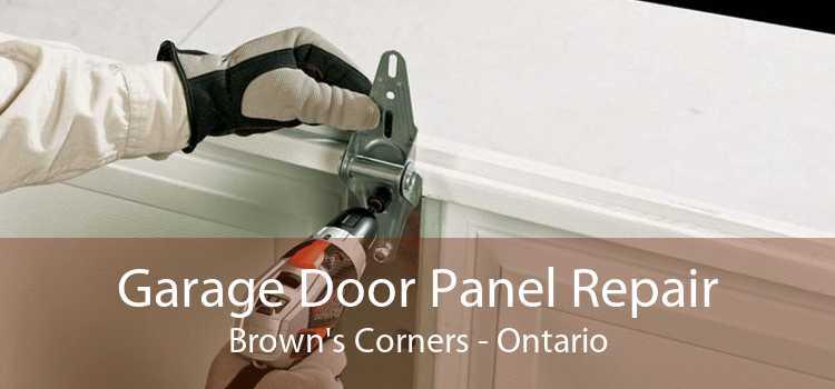 Garage Door Panel Repair Brown's Corners - Ontario