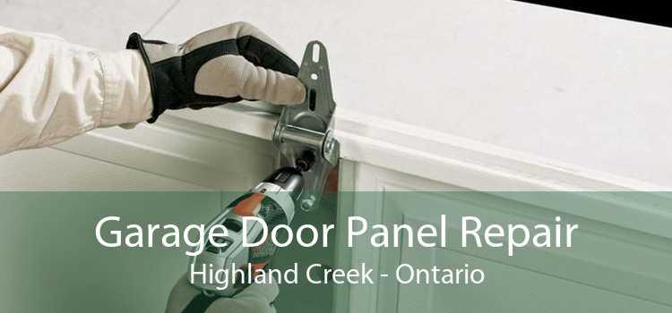 Garage Door Panel Repair Highland Creek - Ontario