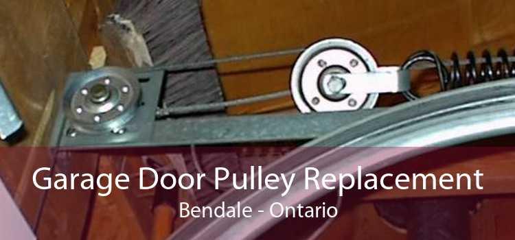 Garage Door Pulley Replacement Bendale - Ontario