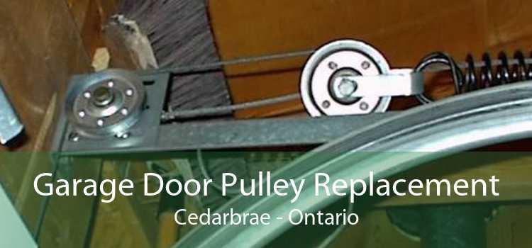 Garage Door Pulley Replacement Cedarbrae - Ontario