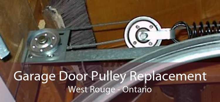 Garage Door Pulley Replacement West Rouge - Ontario