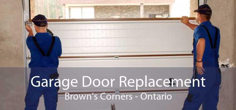 Garage Door Replacement Brown's Corners - Ontario
