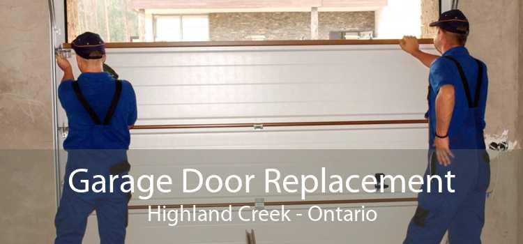 Garage Door Replacement Highland Creek - Ontario