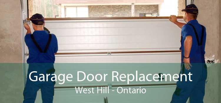 Garage Door Replacement West Hill - Ontario