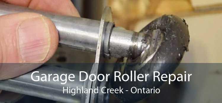 Garage Door Roller Repair Highland Creek - Ontario