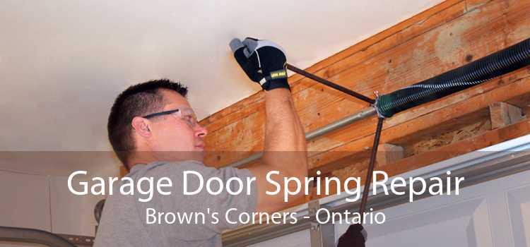 Garage Door Spring Repair Brown's Corners - Ontario
