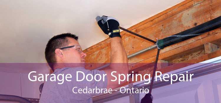 Garage Door Spring Repair Cedarbrae - Ontario