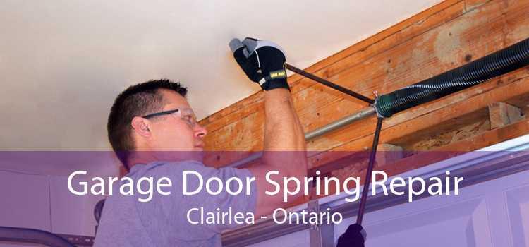 Garage Door Spring Repair Clairlea - Ontario