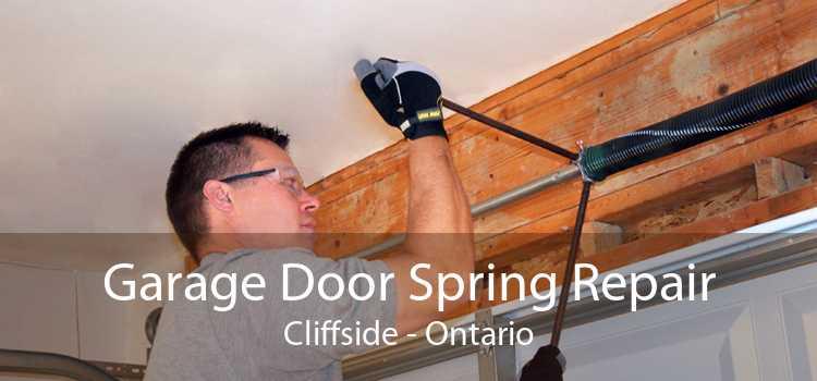 Garage Door Spring Repair Cliffside - Ontario