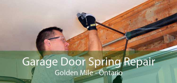 Garage Door Spring Repair Golden Mile - Ontario