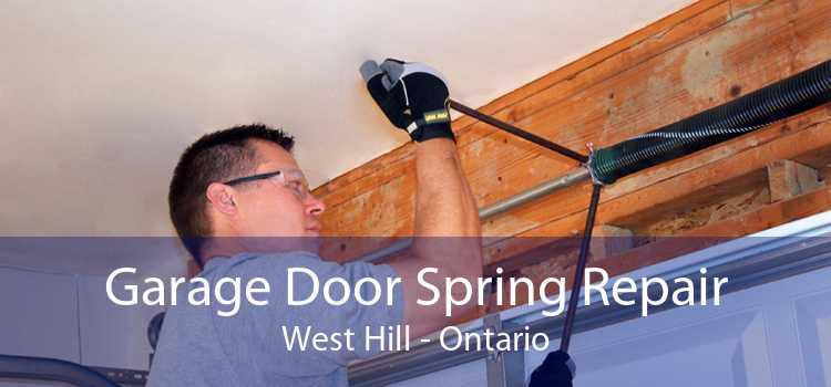 Garage Door Spring Repair West Hill - Ontario