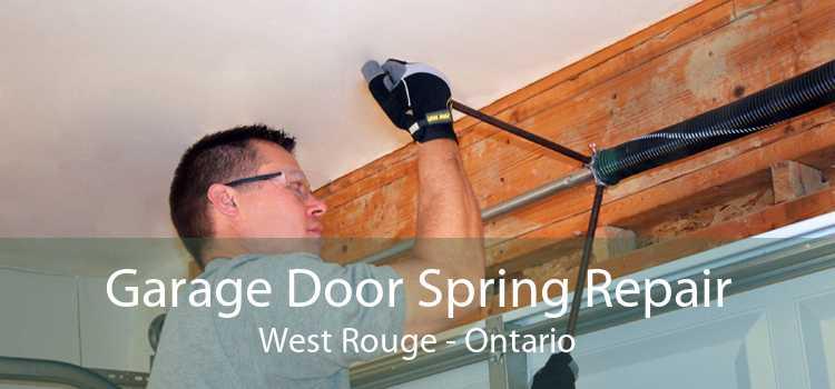 Garage Door Spring Repair West Rouge - Ontario
