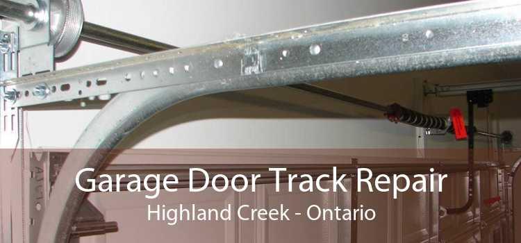 Garage Door Track Repair Highland Creek - Ontario