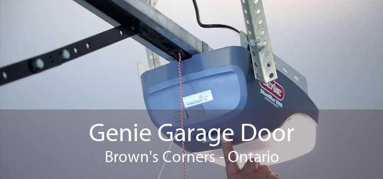Genie Garage Door Brown's Corners - Ontario