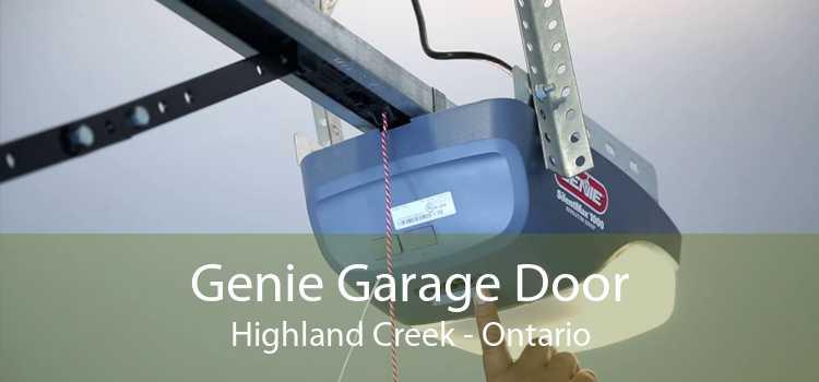 Genie Garage Door Highland Creek - Ontario