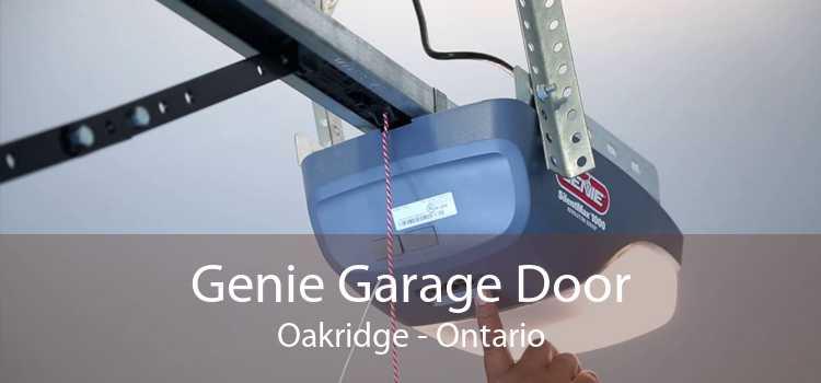 Genie Garage Door Oakridge - Ontario