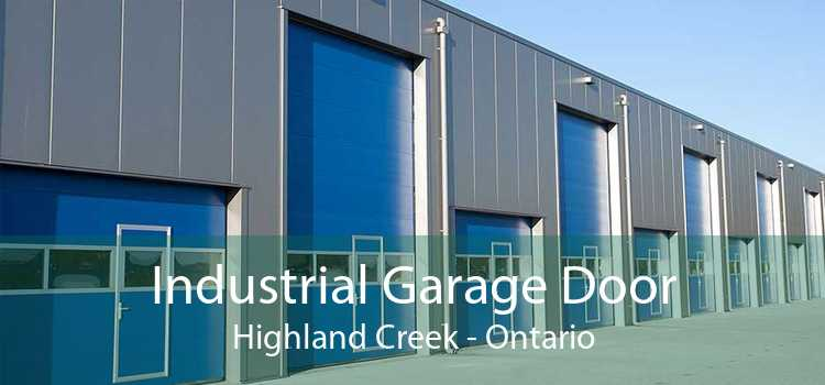 Industrial Garage Door Highland Creek - Ontario