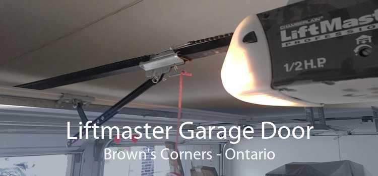 Liftmaster Garage Door Brown's Corners - Ontario