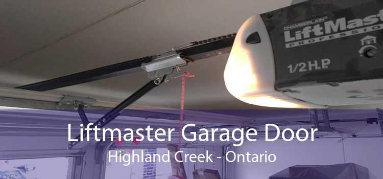 Liftmaster Garage Door Highland Creek - Ontario
