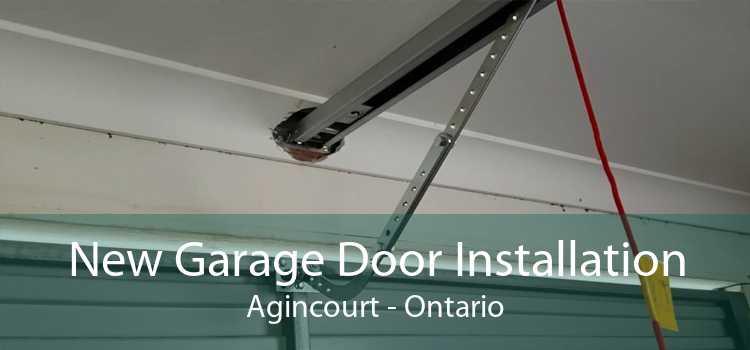 New Garage Door Installation Agincourt - Ontario