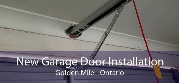 New Garage Door Installation Golden Mile - Ontario