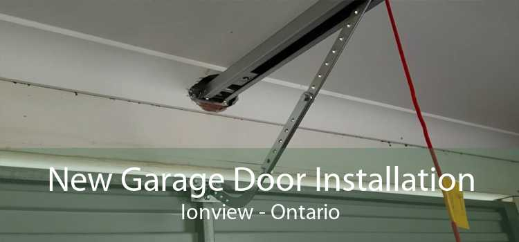 New Garage Door Installation Ionview - Ontario