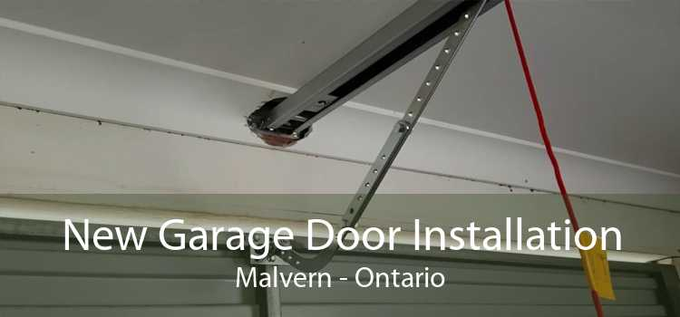 New Garage Door Installation Malvern - Ontario