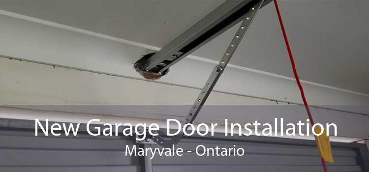 New Garage Door Installation Maryvale - Ontario