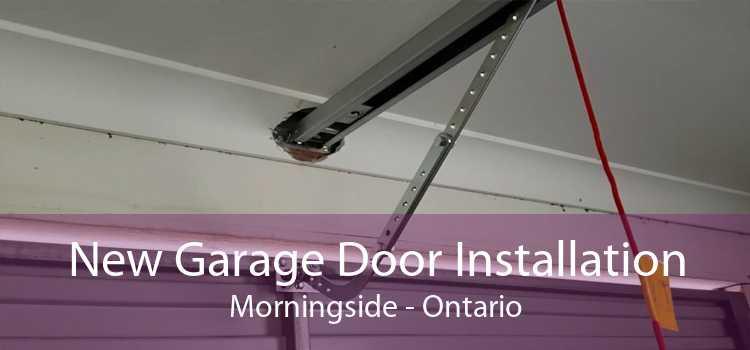 New Garage Door Installation Morningside - Ontario