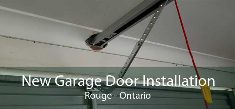 New Garage Door Installation Rouge - Ontario