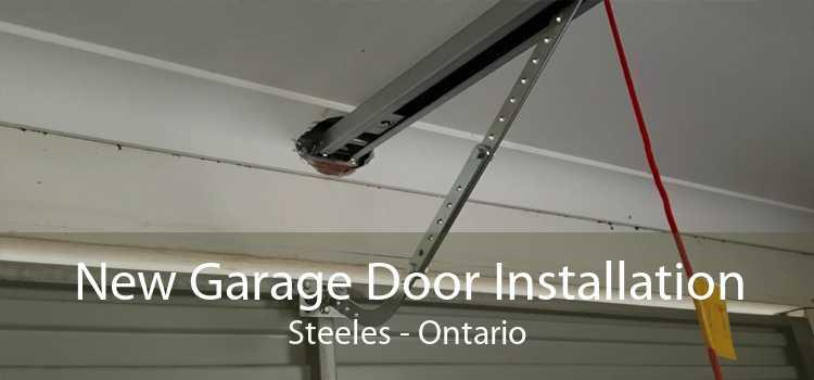 New Garage Door Installation Steeles - Ontario