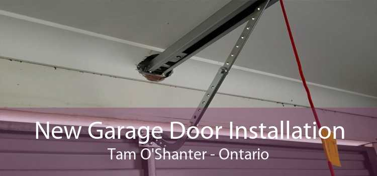 New Garage Door Installation Tam O'Shanter - Ontario