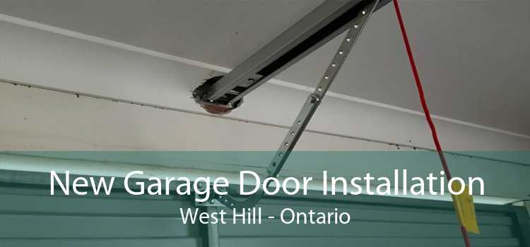 New Garage Door Installation West Hill - Ontario
