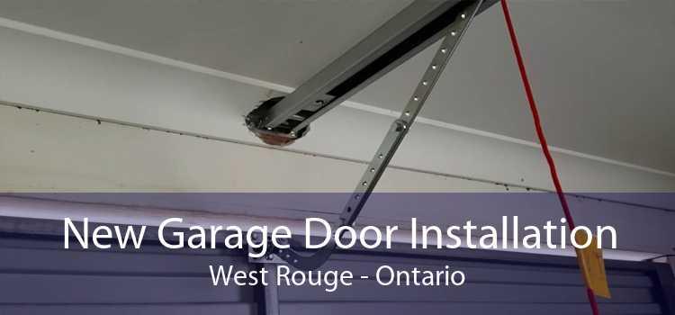 New Garage Door Installation West Rouge - Ontario