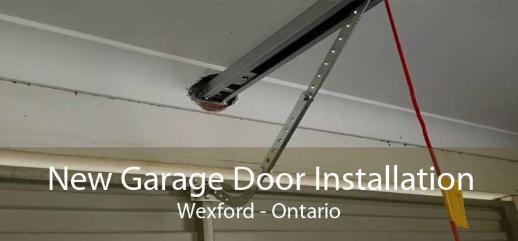 New Garage Door Installation Wexford - Ontario