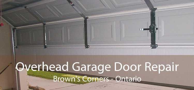 Overhead Garage Door Repair Brown's Corners - Ontario