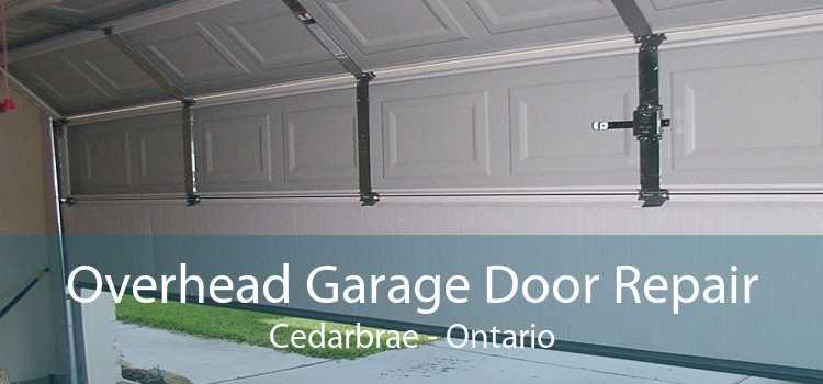 Overhead Garage Door Repair Cedarbrae - Ontario