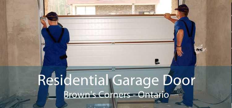 Residential Garage Door Brown's Corners - Ontario