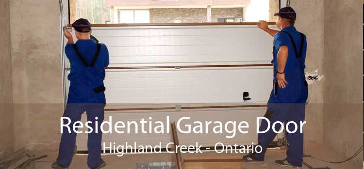 Residential Garage Door Highland Creek - Ontario