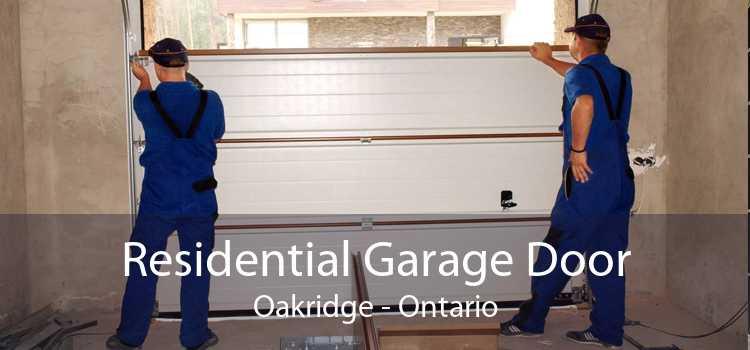 Residential Garage Door Oakridge - Ontario