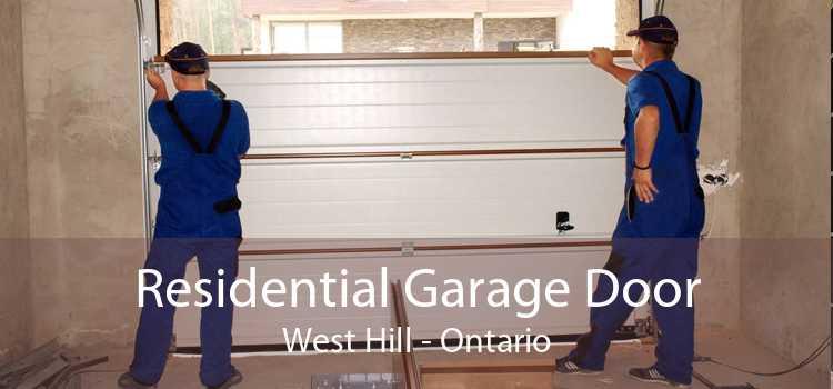 Residential Garage Door West Hill - Ontario