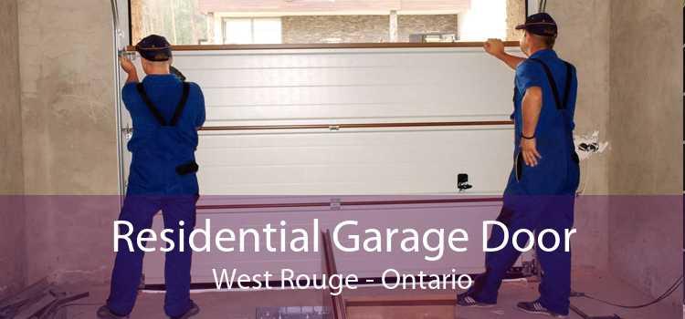 Residential Garage Door West Rouge - Ontario
