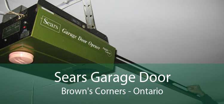 Sears Garage Door Brown's Corners - Ontario