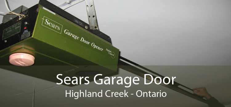 Sears Garage Door Highland Creek - Ontario