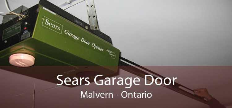 Sears Garage Door Malvern - Ontario
