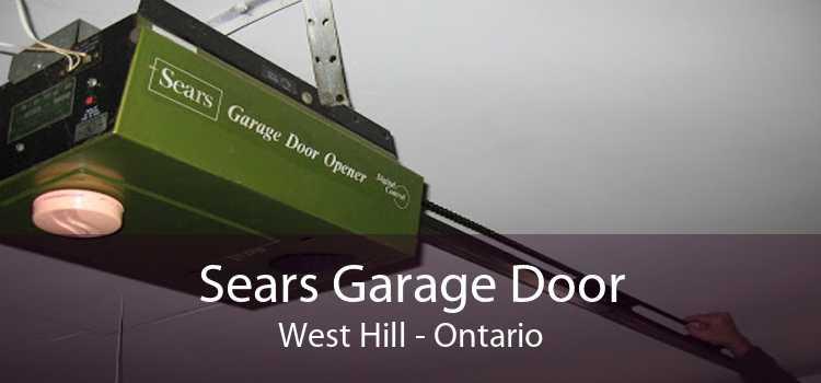 Sears Garage Door West Hill - Ontario
