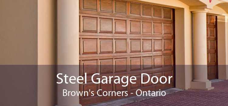 Steel Garage Door Brown's Corners - Ontario