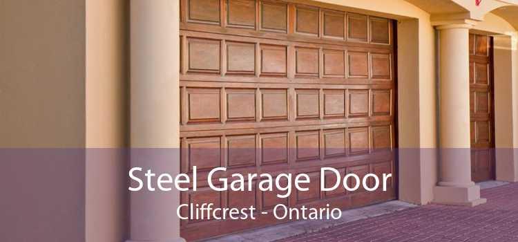 Steel Garage Door Cliffcrest - Ontario