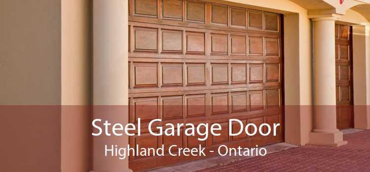 Steel Garage Door Highland Creek - Ontario